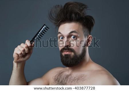 Fabulous Man Shaggy Hair Stock Photos Royalty Free Images Amp Vectors Short Hairstyles For Black Women Fulllsitofus