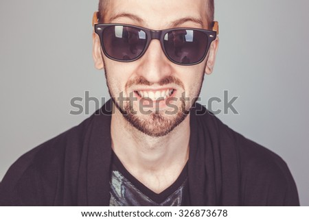 funny guy smiling
