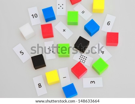 funny mathematics - stock photo