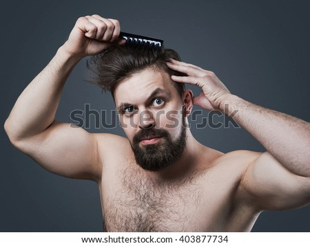 Outstanding Man Shaggy Hair Stock Photos Royalty Free Images Amp Vectors Short Hairstyles For Black Women Fulllsitofus