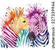 funny zebra  t shirt graphics ...