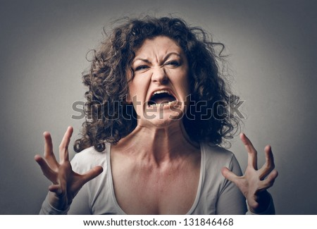 Furious Woman Stock Images, Royalty-Free Images & Vectors ...