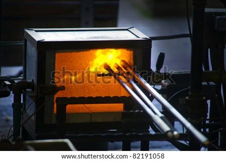 Furnace - stock photo