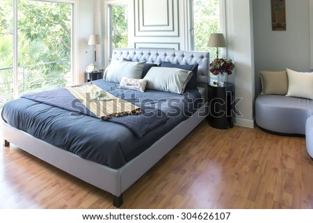 Furnished master bedroom in new luxury home. Bedroom Stock Images  Royalty Free Images   Vectors   Shutterstock