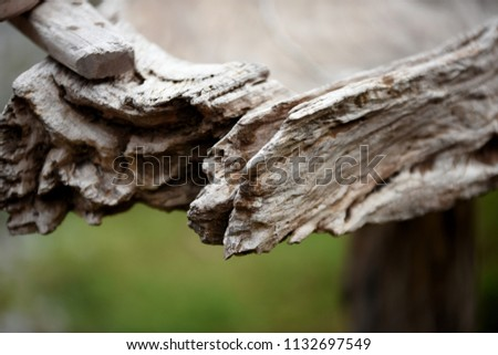 Furnishings Home Garden Made Old Wood Stock Photo Royalty Free