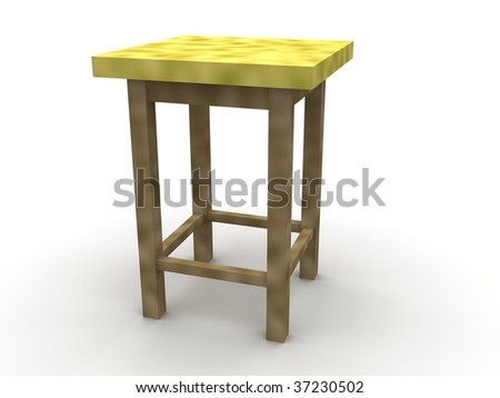 Furniture. A chair