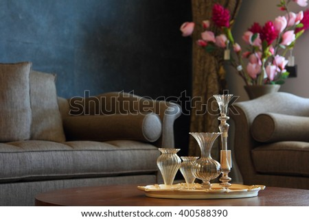 Furniture and Accessories. Home Accessories Stock Images  Royalty Free Images   Vectors