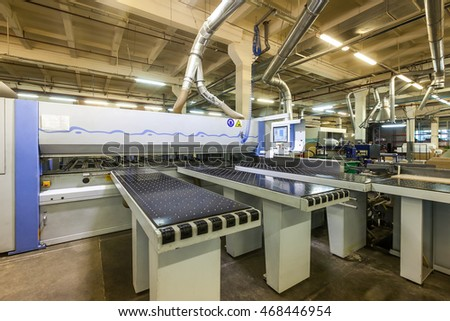 furniture factory machine