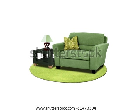 Furniture set - stock photo