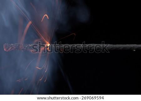 Fuse (explosives)   - stock photo