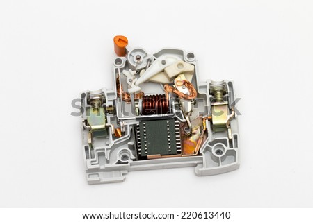 stock-photo-fuse-on-the-white-background-220613440 Car Fuse Box Icons on terminal block, under hood, is red wire,