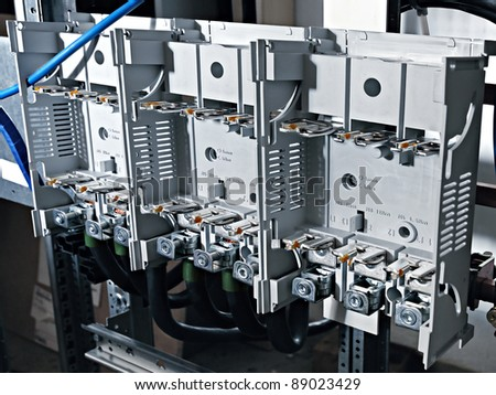 stock photo fusebox panel close up shot 89023429 breaker panel stock images, royalty free images & vectors Old Fuse Box Parts at panicattacktreatment.co