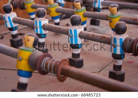 Futbol, brazil vs Argentina soccer - stock photo
