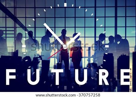 Future Dream Imagination Vision Visual Concept - stock photo