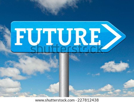 future fortune telling predict next generation of technology - stock photo