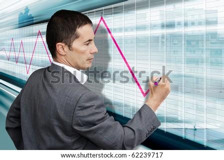 Future of finance - stock photo