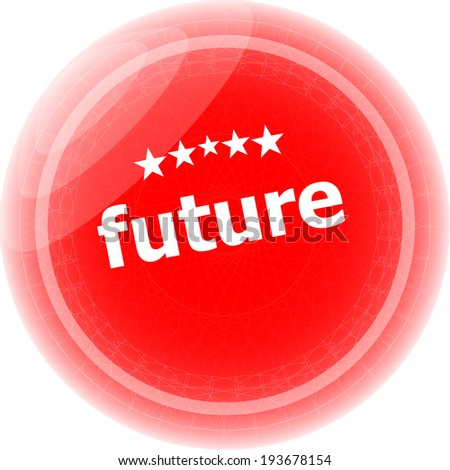 future red rubber stamp over a white background - stock photo