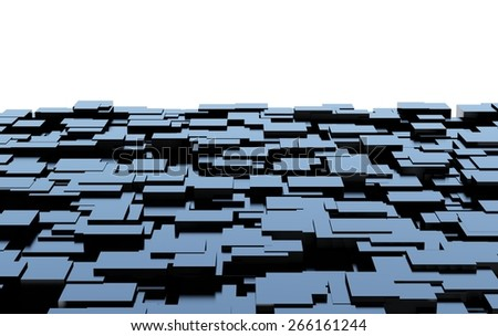 Futuristic abstract background for text - stock photo