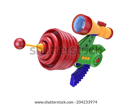 Futuristic Gun - stock photo