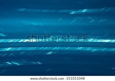 Futuristic matrix like data stream abstract background - stock photo