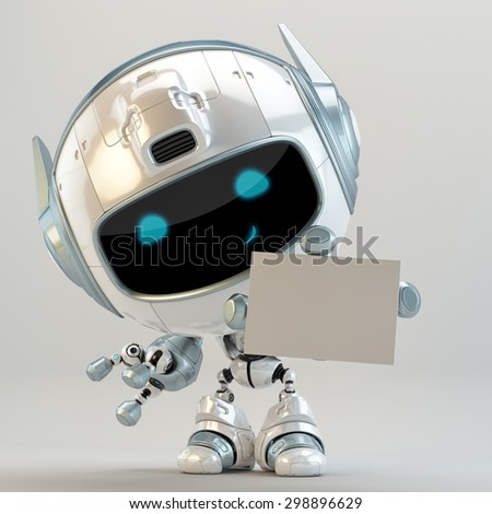 Futuristic robotic manager