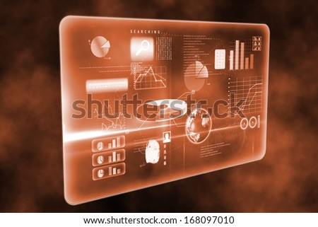 Futuristic technology interface