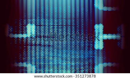 Futuristic technology screen 10550 from a series of abstract future tech imagery. - stock photo