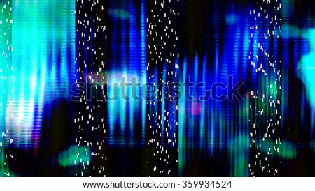 Futuristic, video screen display pixels 10529 from a series of abstract tech imagery.