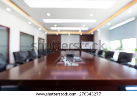 Fuzzy conference room