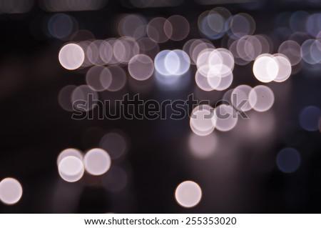 Fuzzy light image - stock photo