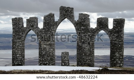 Fyrish Monument, Alness Scotland