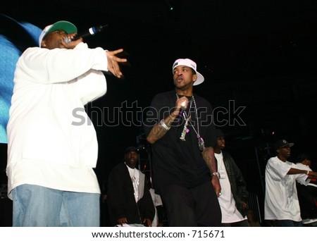 G-Unit Tony Yayo - Monster Jam, October 25, 2005 - stock photo