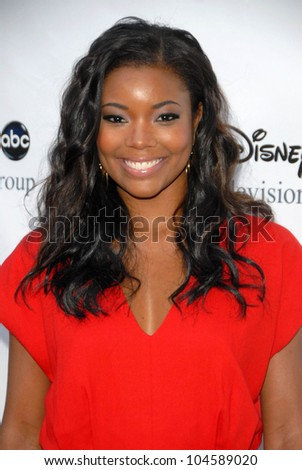 Gabrielle Union at the 2009 Disney-ABC Television Group Summer Press Tour. Langham Resort, Pasadena, CA. 08-08-09