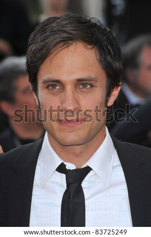 Gael Garcia Bernal at the closing Awards Gala at the 63rd Festival de Cannes. May 23, 2010  Cannes, France Picture: Paul Smith / Featureflash