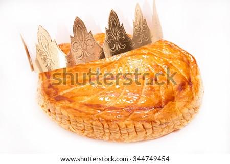 galette des rois - stock photo