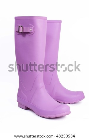 galoshes - stock photo