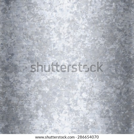 Galvanized metal texture that works as a seamless background pattern. - stock photo