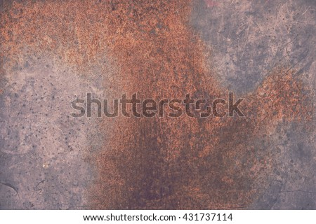 galvanized steel plate grunge rustic background - metallic stainless corrugated chrome texture - stock photo