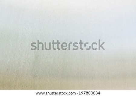 galvanized steel plate reflection background - metallic stainless corrugated chrome texture - stock photo
