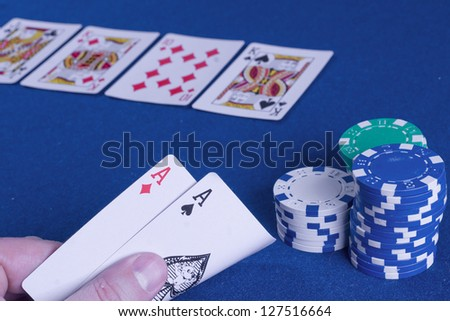 Gambling - stock photo