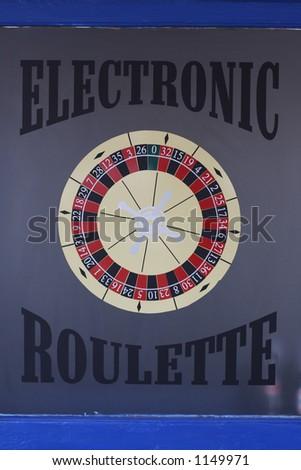 gambling casino sign - stock photo