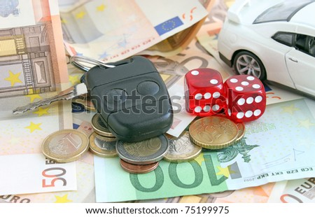 Gambling concept - stock photo