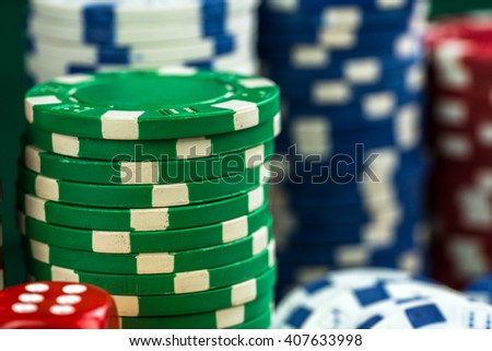 Gambling Money Chips