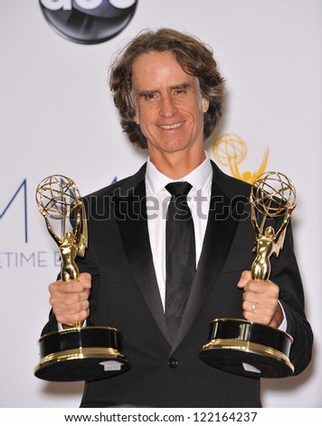Game Change director Jay Roach at the 64th Primetime Emmy Awards at the Nokia Theatre LA Live. September 23, 2012  Los Angeles, CA Picture: Paul Smith