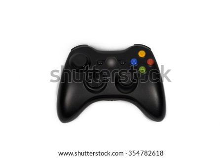 game controller isolated - stock photo