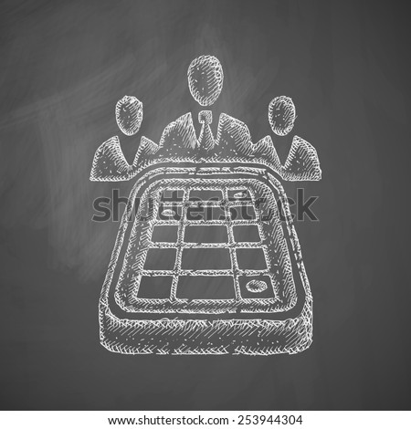 game craps icon - stock photo
