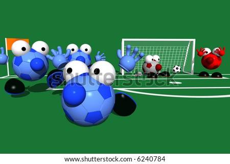 GAME DAY SERIES: Goal - stock photo