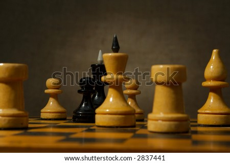 Game in a chess brings great pleasure