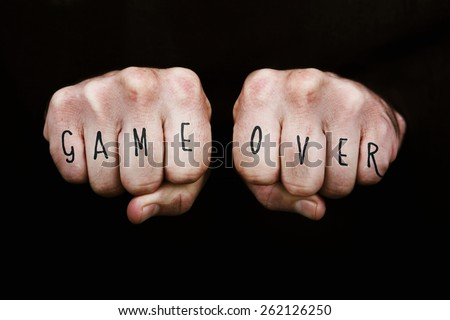 Game Over on fists
