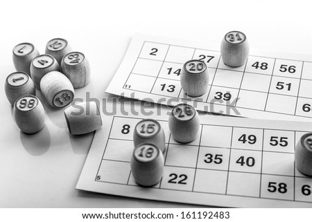 "Game photo in ""Bingo's"" lotto"